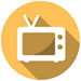 Small icon depicting television